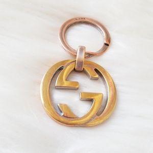 Gucci Logo Key Ring Keychain